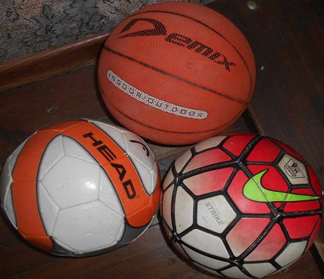 Продам Мячи футбол, баскетбол, волебол отд