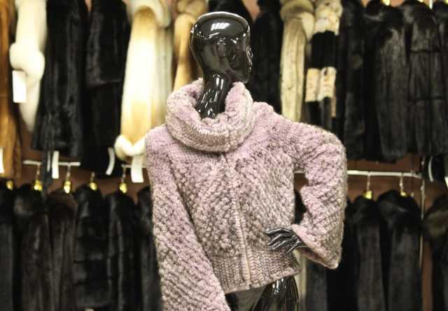 Продам кофта из вязаной норки