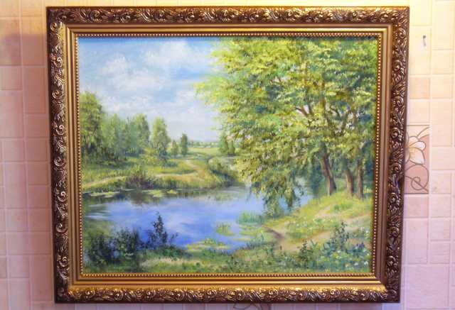 Продам картины с пейзажами