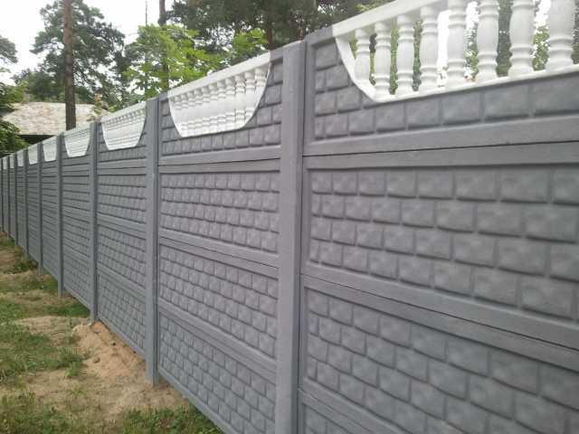 купить в барнауле забор из бетона