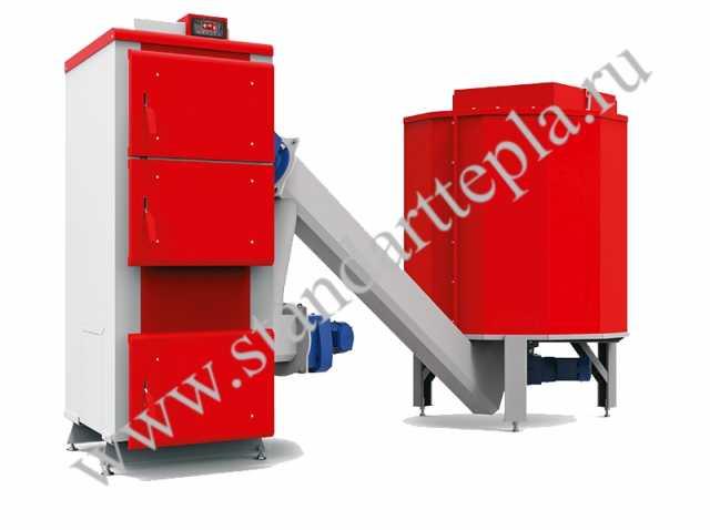 Продам Котлы автоматические на щепе, биомассе