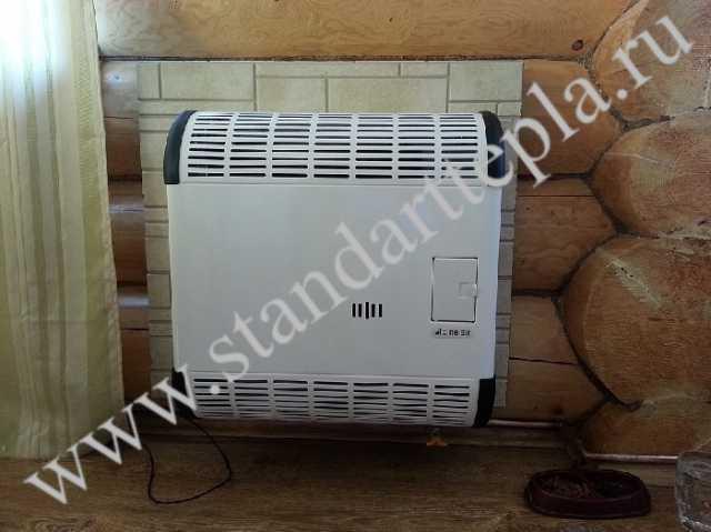Продам Конвектор газовый чугунный + дымоход