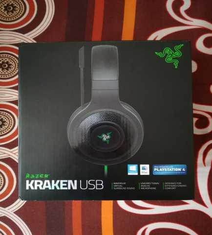 Продам Razer Kraken USB Игровые наушники