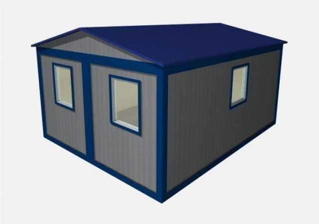 Продам Модульное здание М-2 (6.0х4.8х2.4)