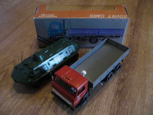 Продам автомодели 1/43 БТР 60ПБ 80-е г в СССР