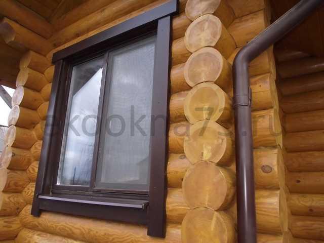 Продам: Деревянные окна со стеклопакетом