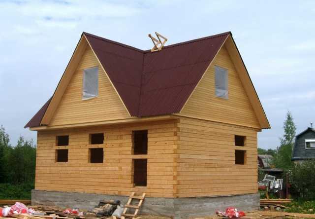 Предложение: Строительство домов, коттеджей.