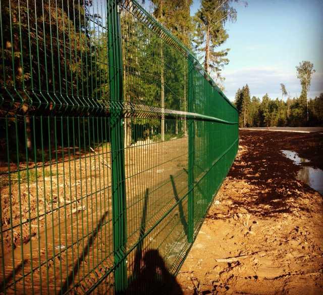Продам Панели окрашенные Забор 3д  2030х2500
