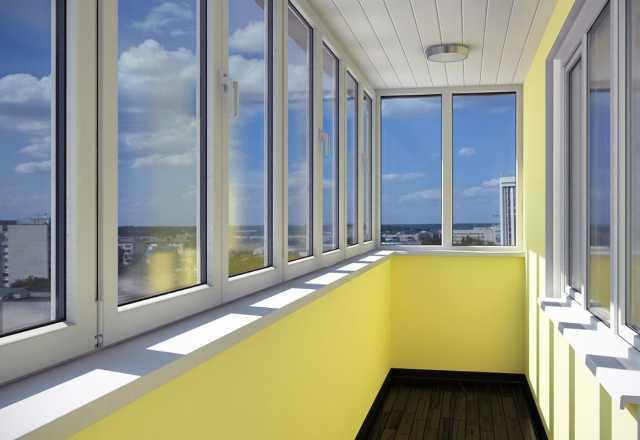 Предложение: Остекление балконов и лоджий в Красноярс