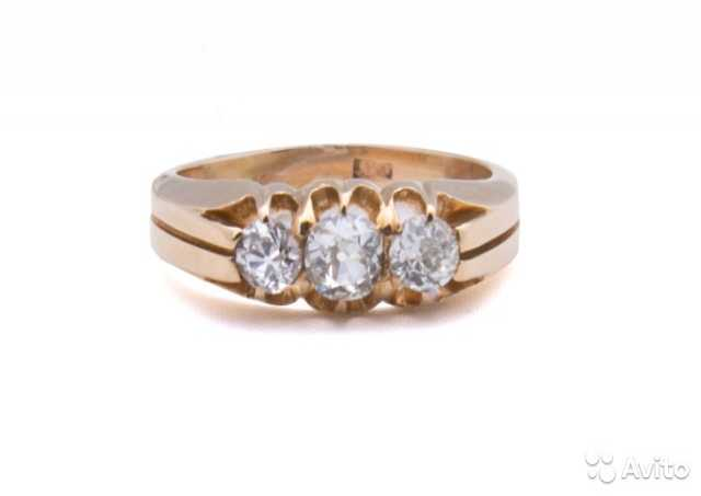 Продам Кольцо золото бриллианты