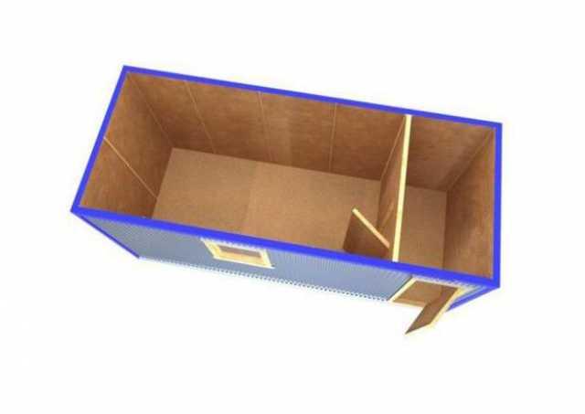 Продам Бытовка/Блок контейнер бк-02 с тамбуром;