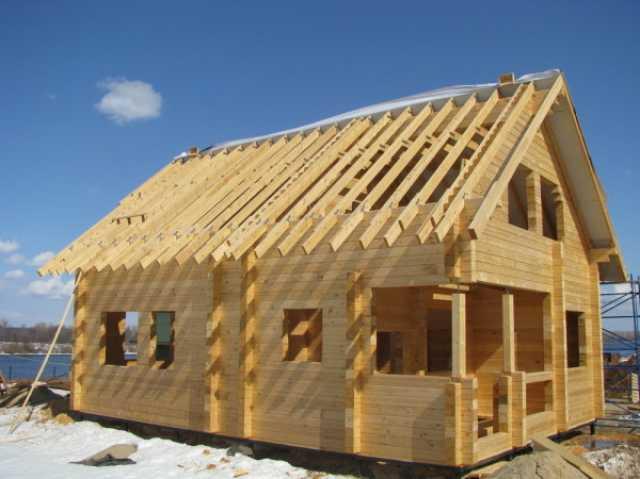 Предложение: Строительство домов,бань из бруса