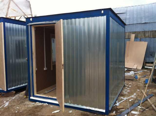Продам Бытовка Блок-контейнер бк-01 Размер 3х2.