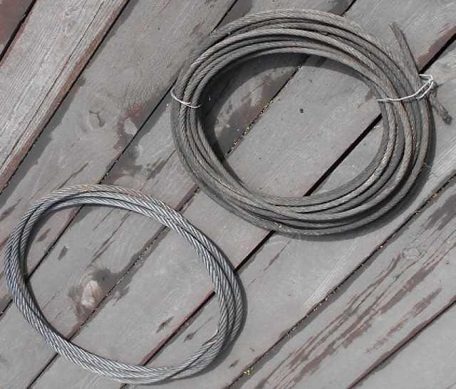 Продам: Тросы диаметр 10мм и 12мм СССР