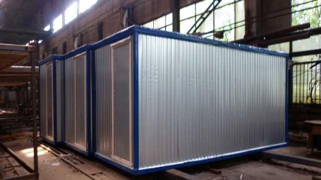 Продам Бытовка /Блок контейнер металлич. Эконом