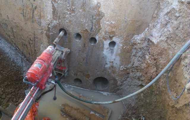 Предложение: Сверление отверстий в бетоне, кирпиче.