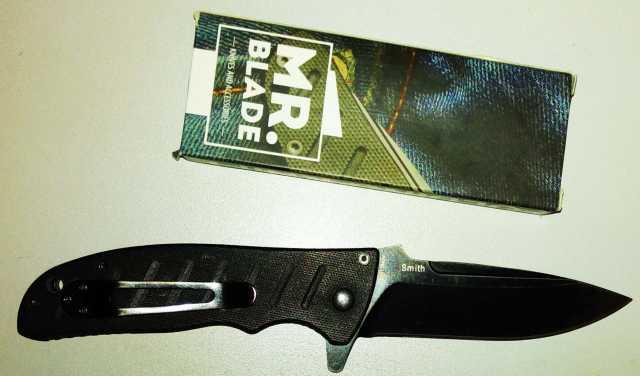 Продам Тактический нож mr blade smith black