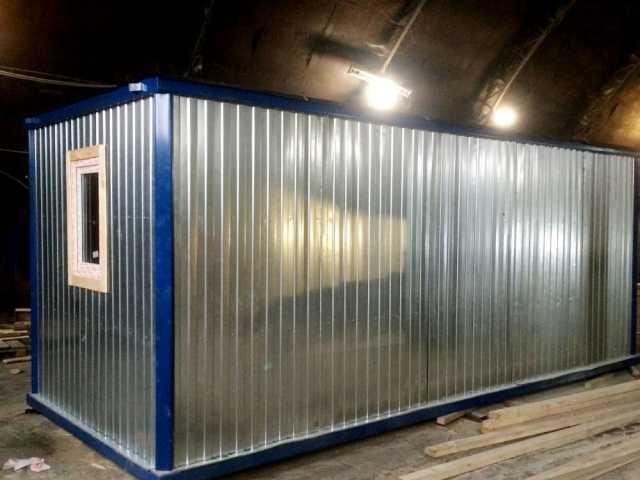 Продам Бытовка / Блок контейнер утепленная бк-0