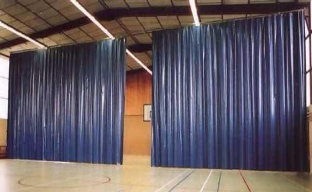 Продам Разделительные шторы для спортзалов