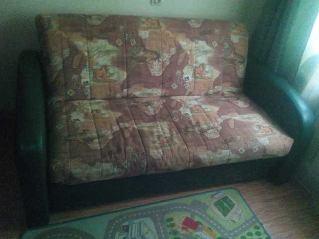 Продам диван раскладной детский