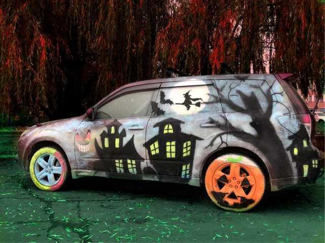 Продам Смываемая краска для авто.Дари эмоции