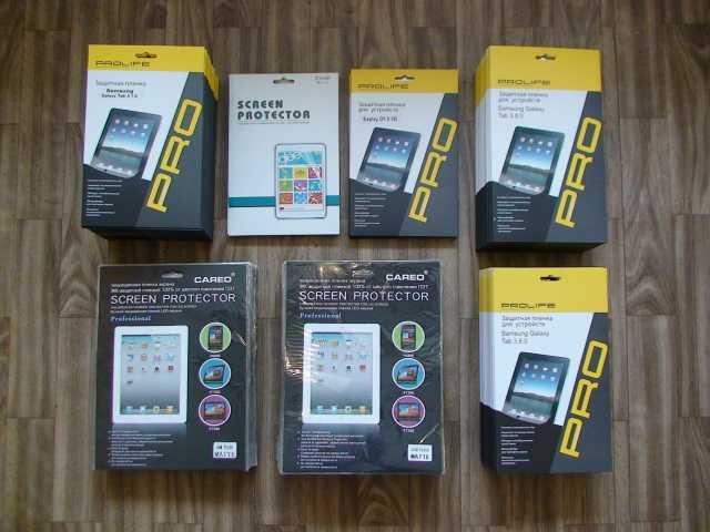 Продам Защитные пленки на планшеты