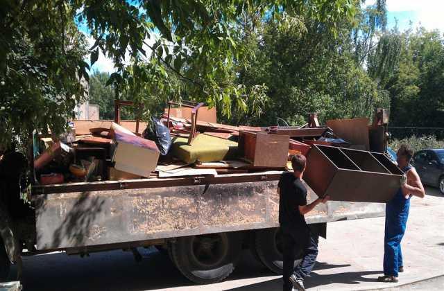 Предложение: Вывоз мусора, утилизация старой мебели