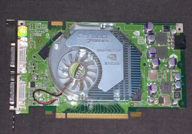 Продам Видеокарта NVIDIA GeForce 7900 GS 256MB