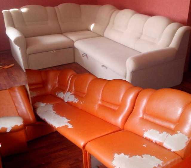 Предложение: ремонт и перетяжка мебели