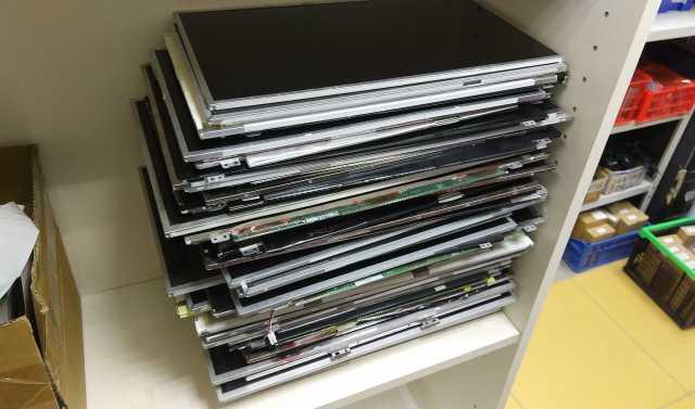 Продам НЕИСПРАВНЫЕ матрицы/экраны для ноутбуков