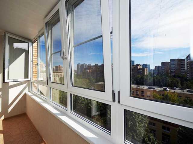 Предложение: Остекление балконов