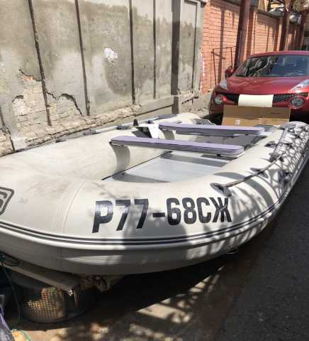 Продам Моторная лодка ПВХ Silverado 43 S