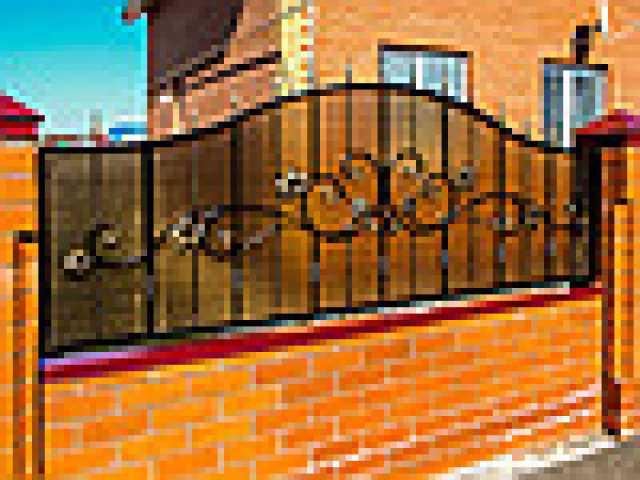 Продам Забор+металлический+кованносварной