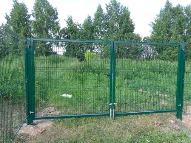 Продам Ворота  для 3D  ограждения (полимер)