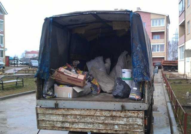 Предложение: Вывезем мусор есть грузчики89523399589