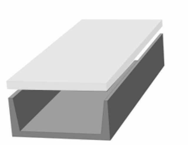 Продам Элементы лотков теплотрасс ЖБИ железобет