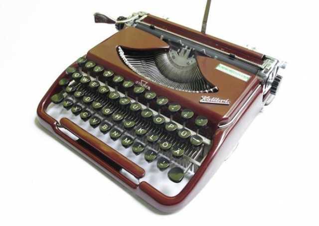 Куплю печатную машинку Groma Kolibri в х