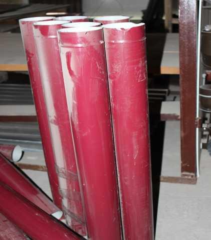 Продам Труба водосточная с полимерным покрытием