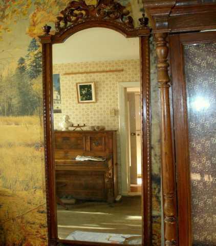 Продам Зеркало антикварное с консолью