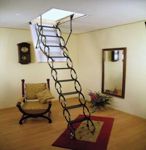 Продам лестницы чердачные