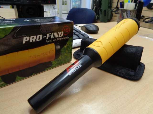 Продам Металлоискатель Minelab Pro Find 15