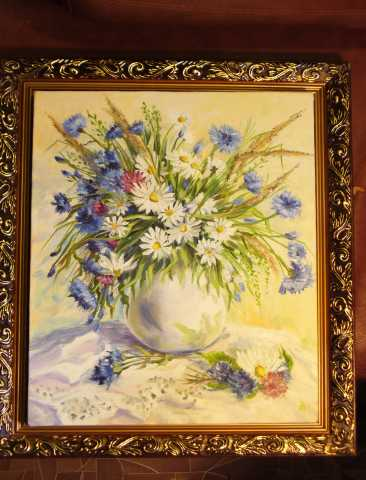 Продам картина полевые цветы