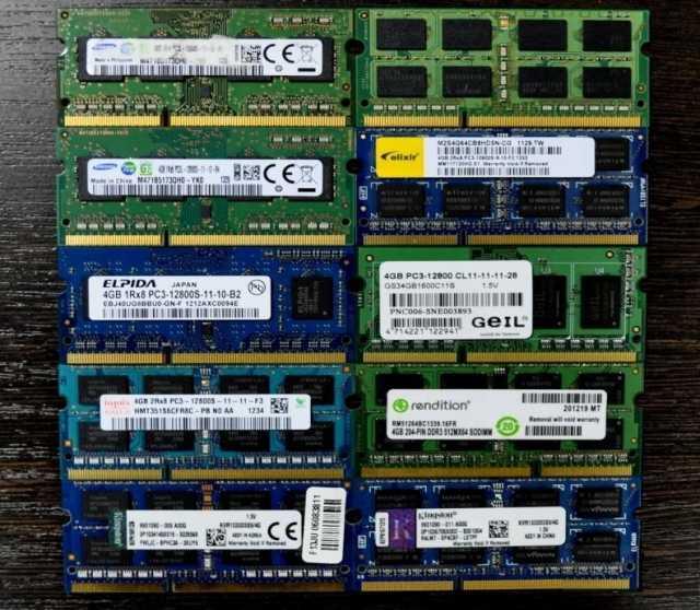 Продам: sodimm DDR3 4Gb для ноутбука