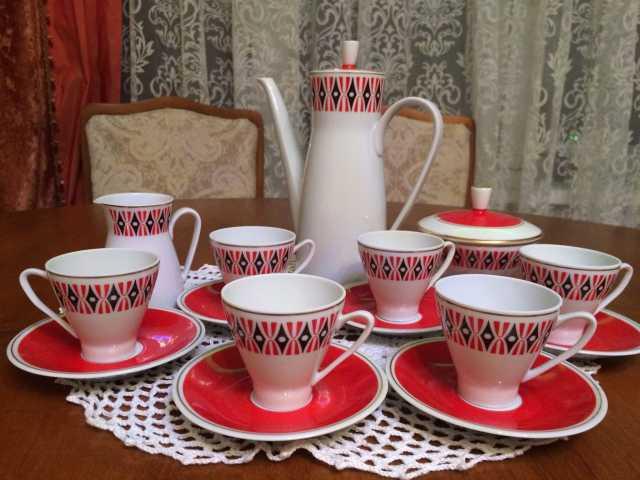 Продам Сервиз кофейный гдр (Freiberger Porzella