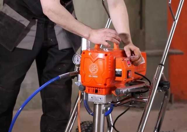 Предложение: Ремонт окрасочного оборудования