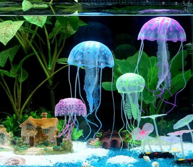 Продам Медуза искусственная в аквариум
