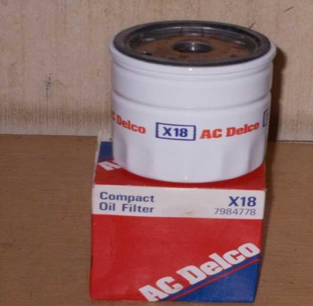 Продам Фильтр масляный Х18 АСDelco