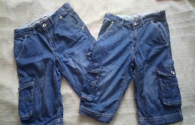 Продам Dodipetto шорты джинсовые р152, 2шт.
