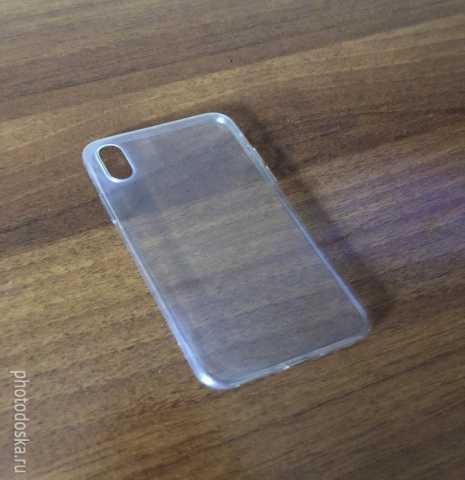Продам Чехол силиконовый на iPhone X