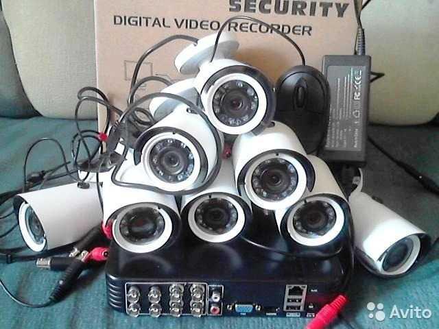 Продам комплект видео на 8 камер